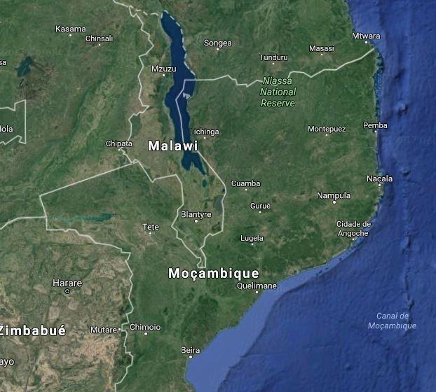 lago niassa mapa Curiosidades sobre o Lago Niassa lago niassa mapa