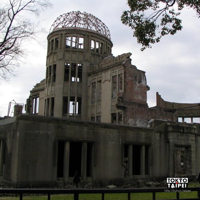 【原爆圓頂】見證戰爭的殘酷 原子彈爆發後的遺跡