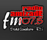 Rádio Amizade FM de David Canabarro RS ao vivo
