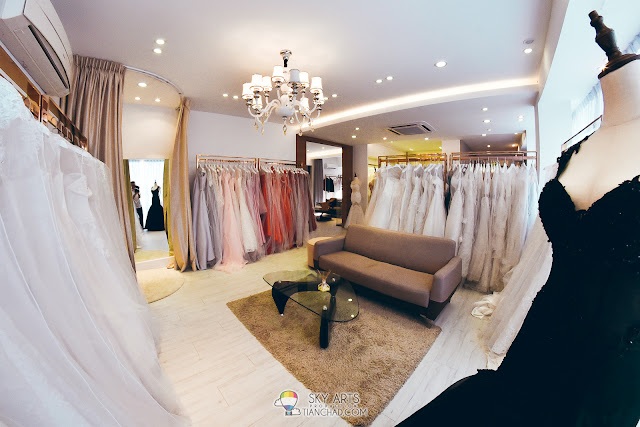 Variety of wedding gowns to choose in LaFame Bridal Mansion @ SS2