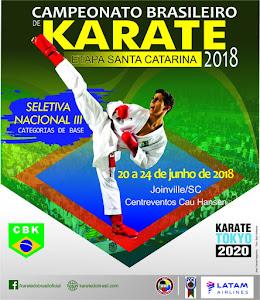 Campeonato Brasileiro de Karate - Fase Classificatória SC