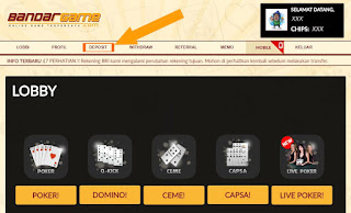Cara Deposit Judi Ceme Keliling Online di BandarGame.net
