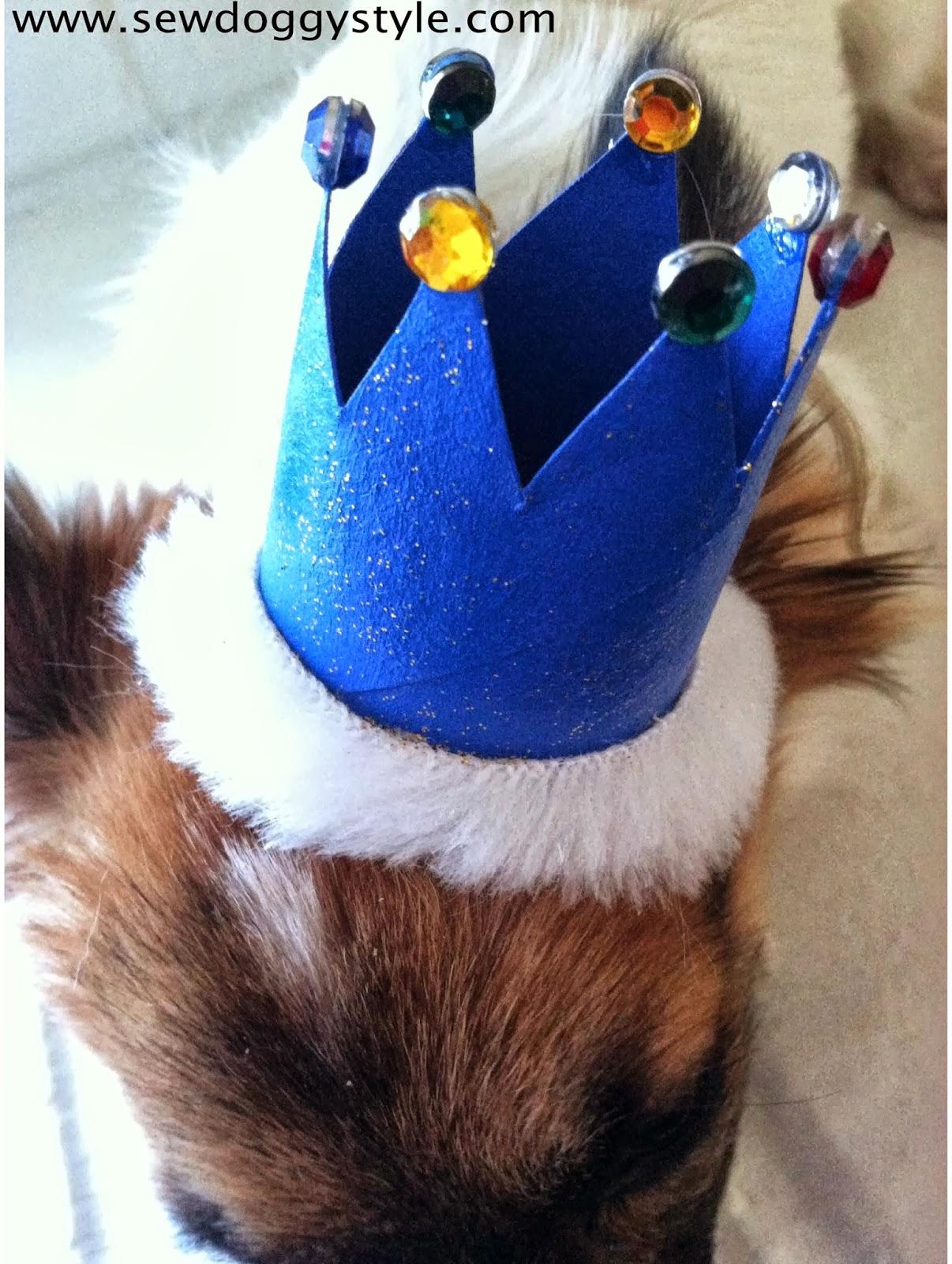 Sew Doggystyle Diy No Sew Mini Dog Crown