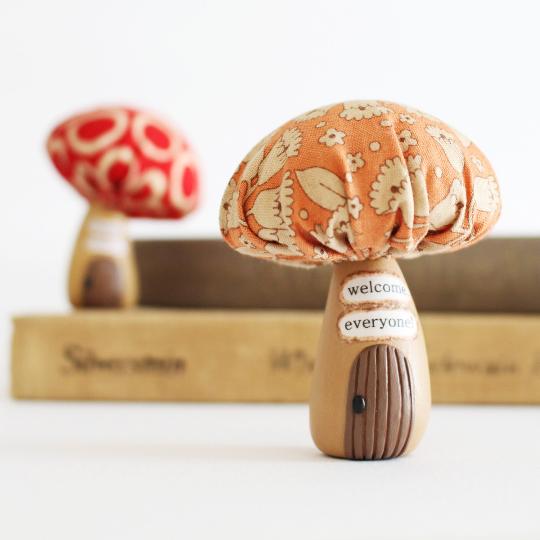 Bea's Wees Mushroom House