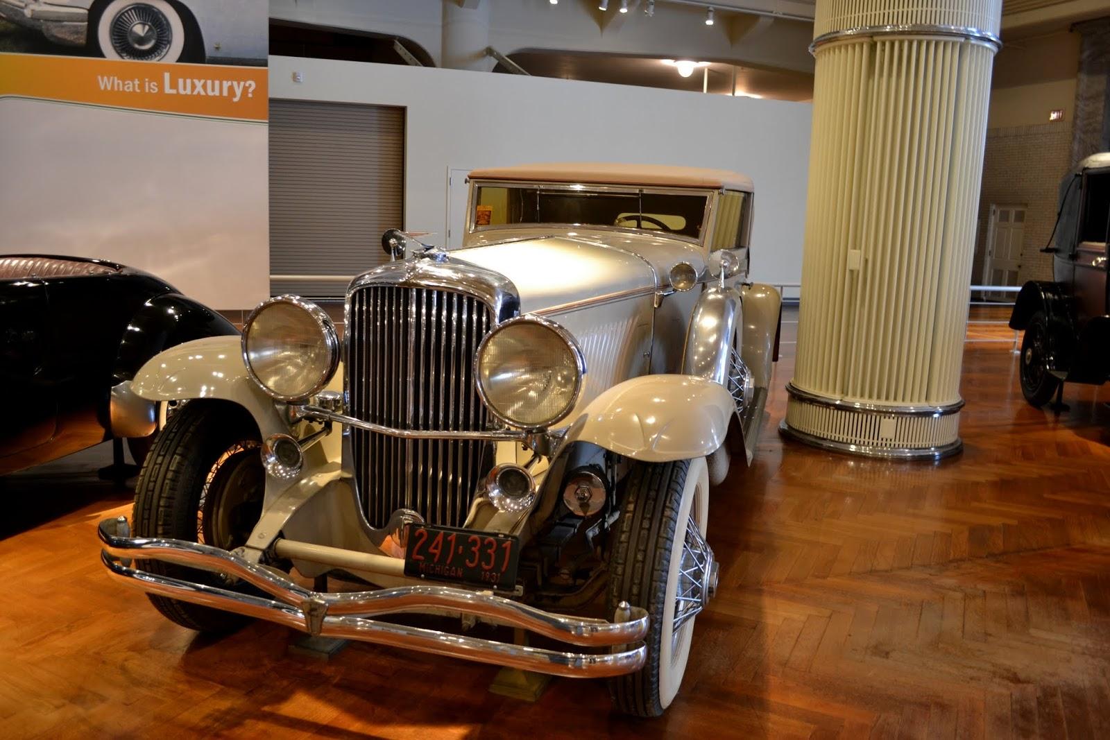 1931 Duesenberg Model J, музей Генри Форда. Дирборн, Мичиган (Henry Ford Museum, Dearborn, MI)