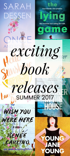summer 2017 book releases;