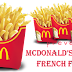 McDonald's celebrates National French Fry Day by taking over the Twitterverse with its FRYMOJI!