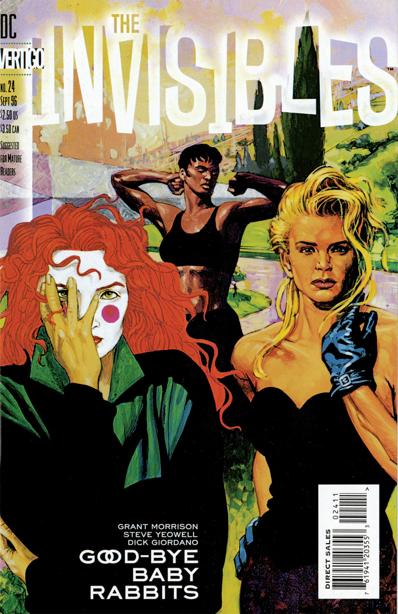 The Invisibles (1994) 24 Page 1