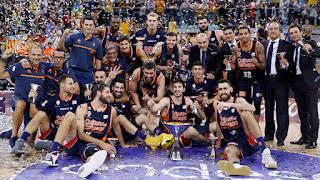 BALONCESTO (Supercopa 2017) - El Valencia Basket se convierte en el sexto supercampeón de España