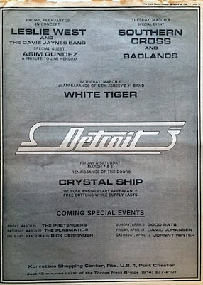 Detroit rock club ad