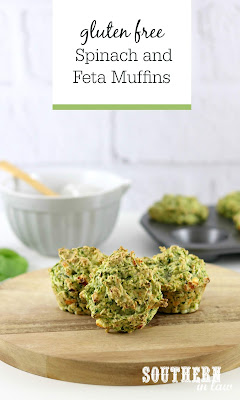 Gluten Free Spinach and Feta Muffins Recipe
