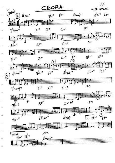 Partitura Flauta Lee Morgan