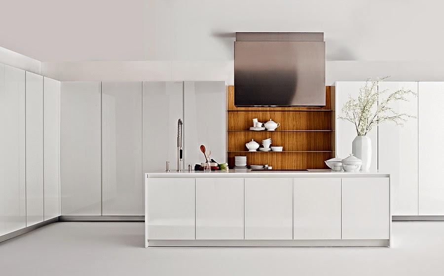Cocinas Minimalistas para ahorro de espacio para Casas Pequeas