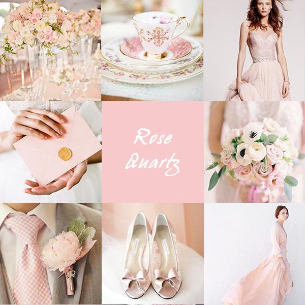 Serenity e rosa quarzo, colore pantone 2016