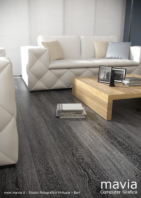Arredamento di interni parquet i pavimenti in legno i for Arredamento grigio
