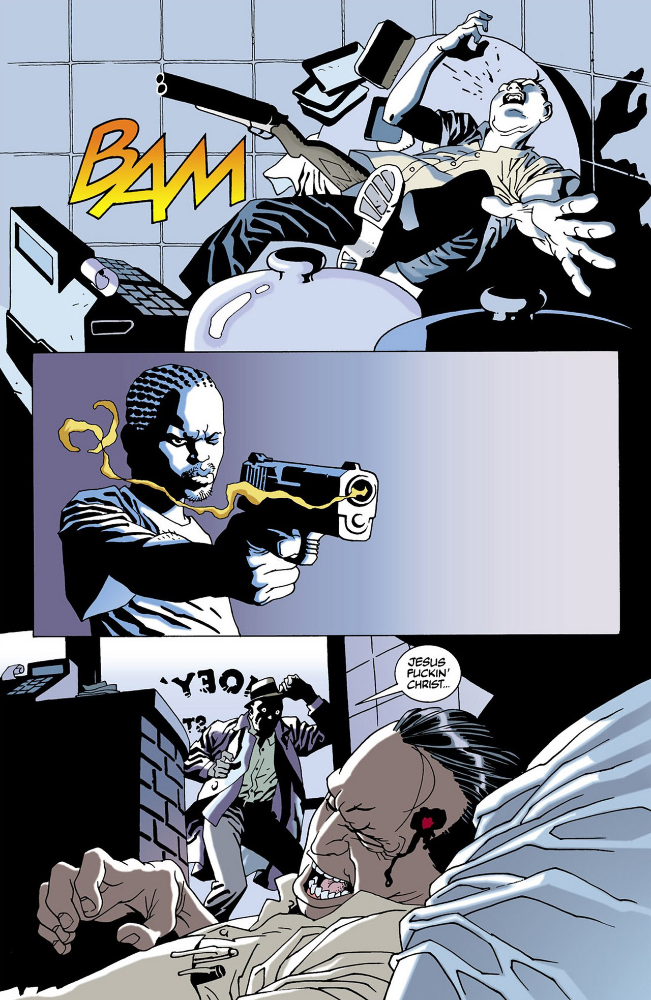 Read online 100 Bullets comic -  Issue #16 - 16