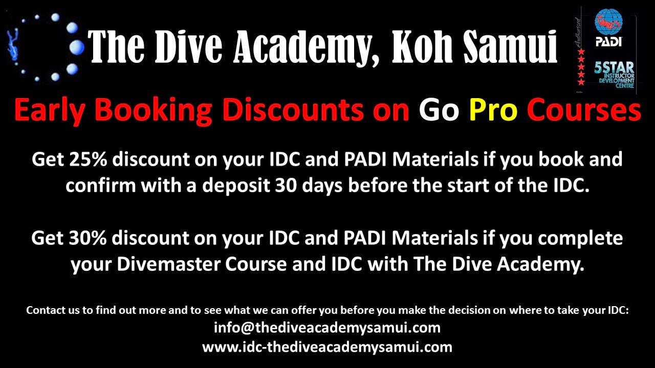 Vist The Dive Academy Go Pro