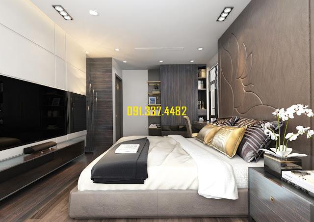 Giá bán căn hộ 2 ngủ chung cư Infinity Ciputra Tây Hồ
