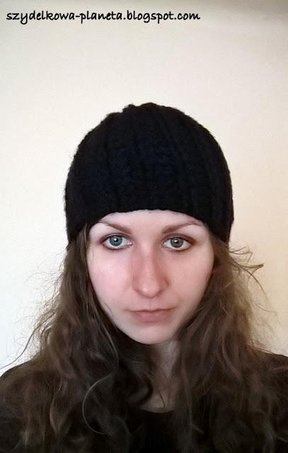 szydelkowa czapka
