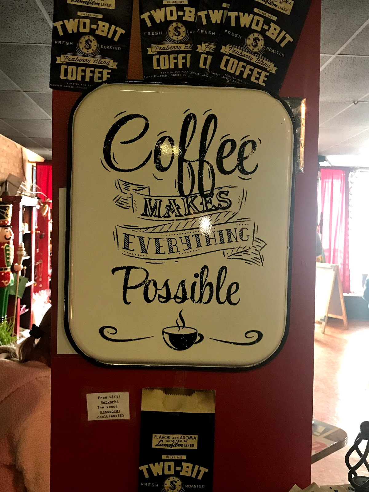 Image: Coffee Sign At Retro 521