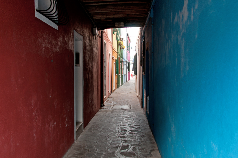 Une ruelle de Burano