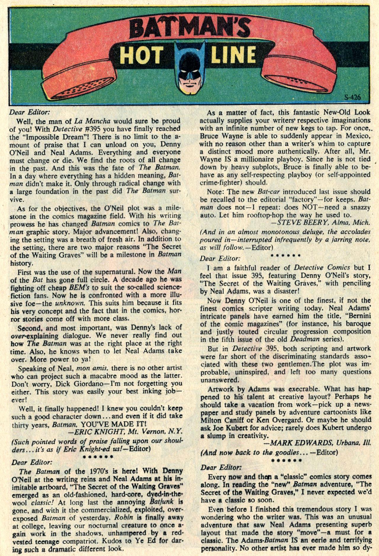 Detective Comics (1937) 399 Page 31