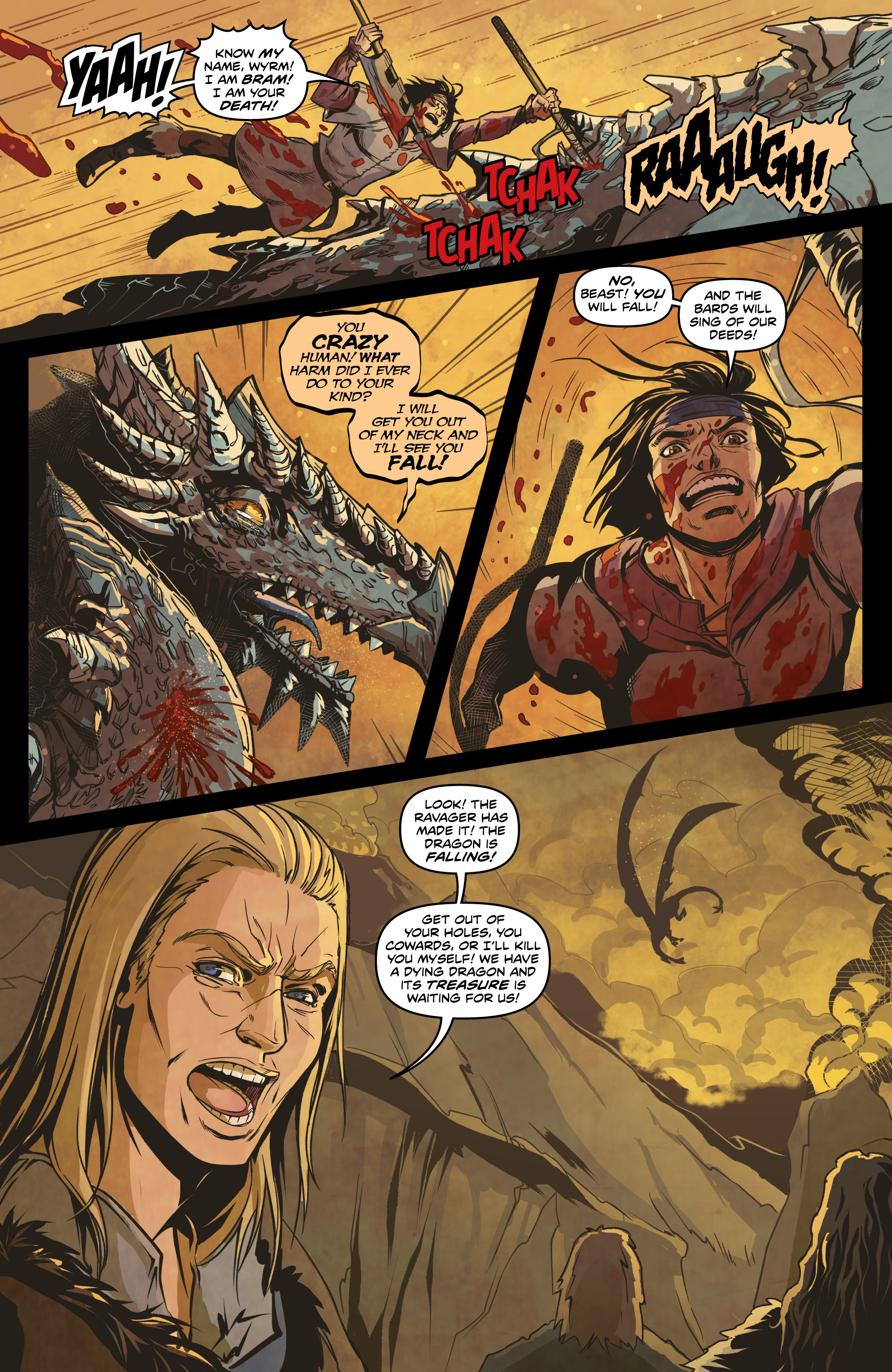 Read online Rogues! (2014) comic -  Issue #4 - 11