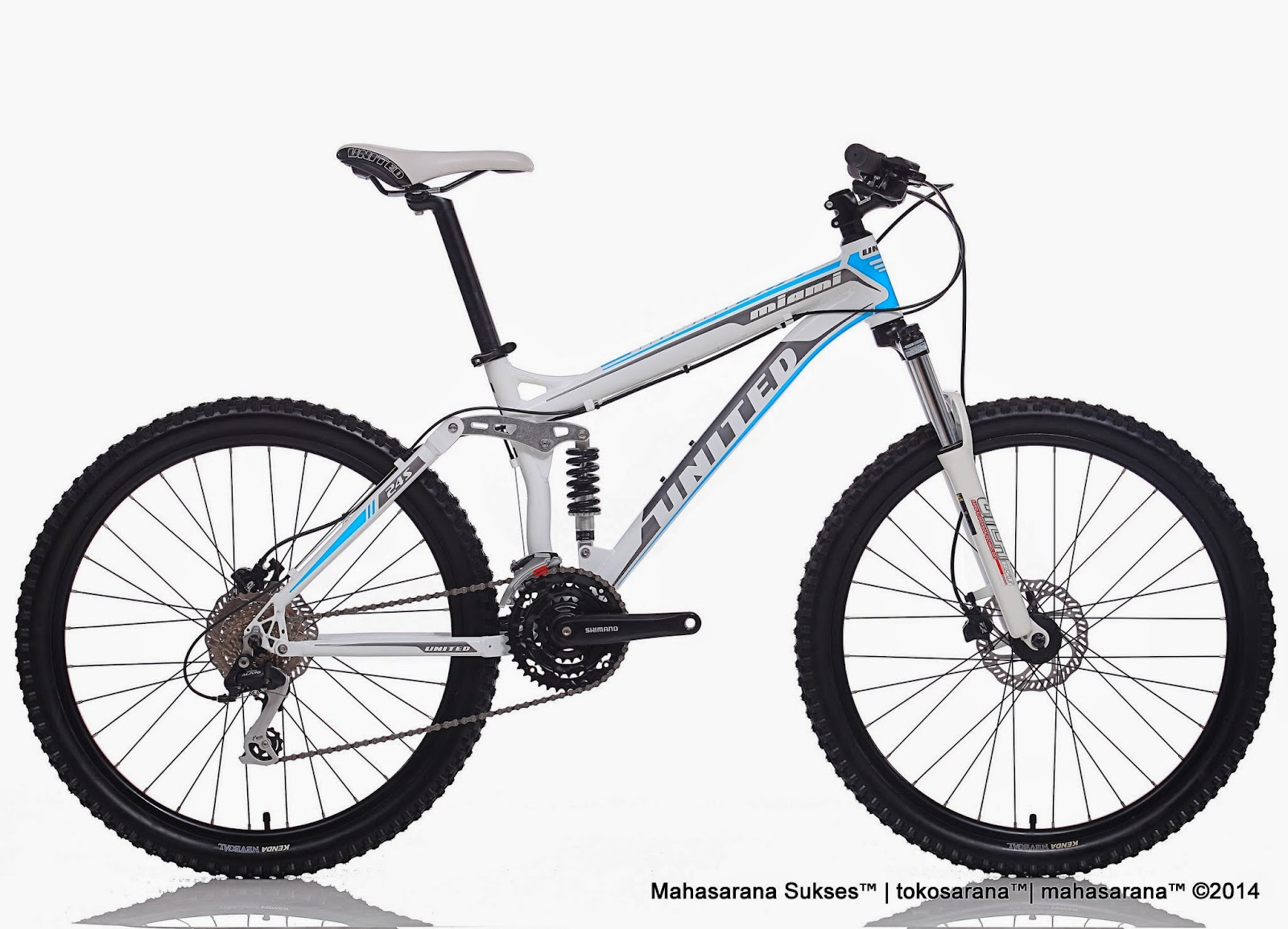 Sepeda Gunung United Miami FX77 24 Speed Hydraulic Disc Brake