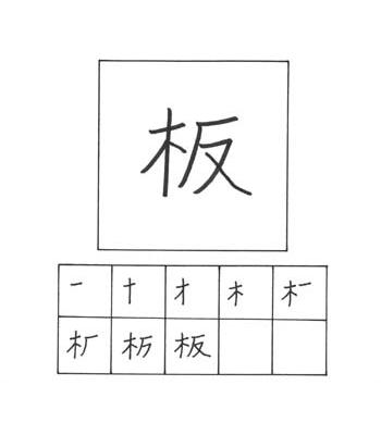 kanji papan