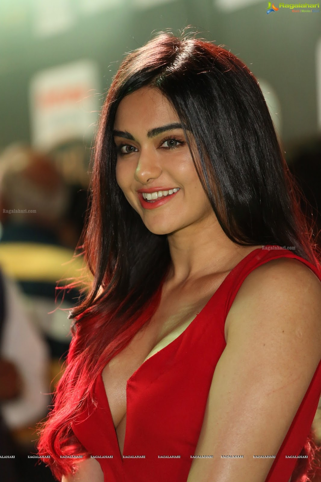 Adah Sharma Snapped At An Event