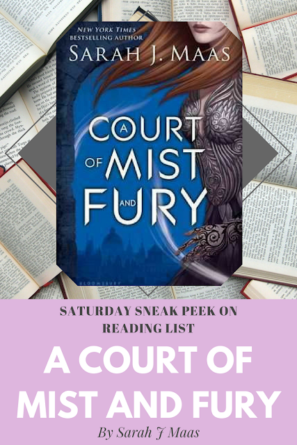 Sneak peek of A Court of Mist and Fury on Reading List
