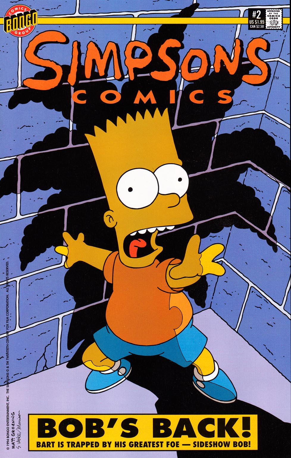 Read online Simpsons Comics comic -  Issue #2 - 1