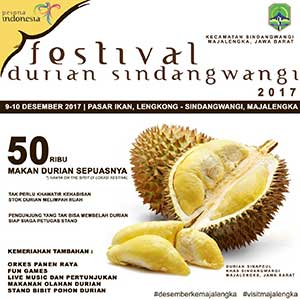 festival durian di majalengka digelar dua hari