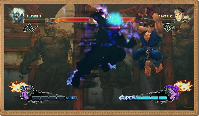 Super Street Fighter 4 PC Games Gameplay