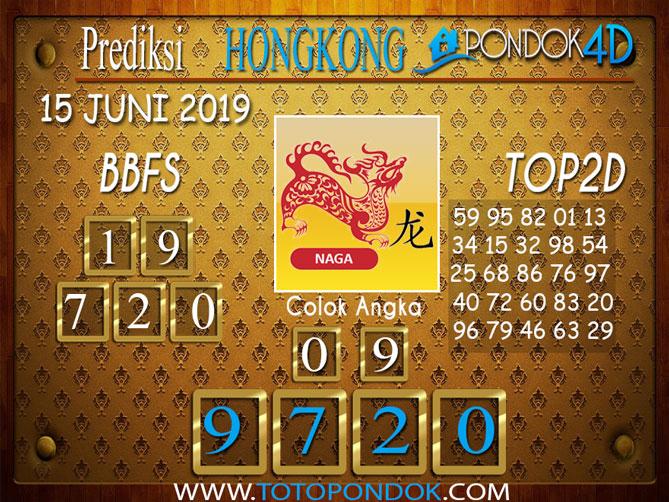 Prediksi Togel HONGKONG PONDOK4D 15 JUNI 2019