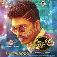 Sarrainodu (2016) Telugu Movie Audio CD Front Covers, Posters, Pictures, Pics, Images, Photos, Wallpapers