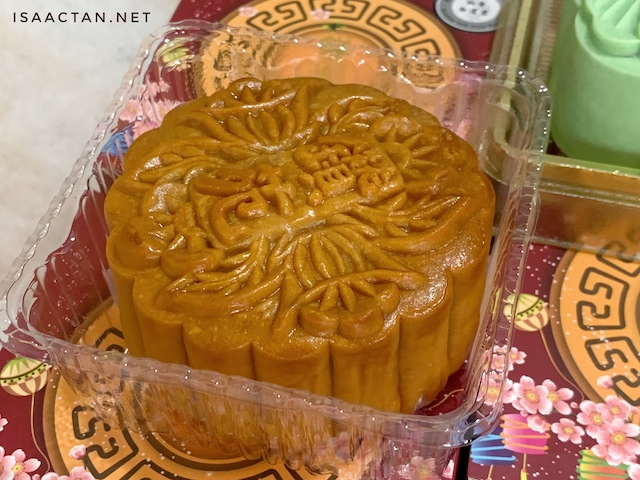 Freshly made mooncakes from Zuan Yuan Chinese Restaurant