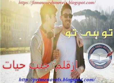 Tu he tu novel pdf by Jannat Hayat
