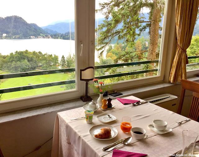 Colazione Lago di Bled, Slovenia