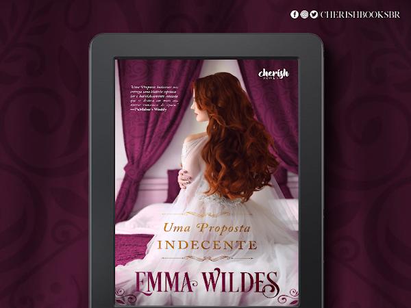 Revelação de Capa:  Uma Proposta Indecente - Emma Wildes