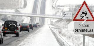 السياقة  في الثلج و الجليد