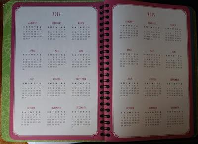 2018 Diary / Planner by Orange Circle Studio, Succulents - Esther Neela Blog