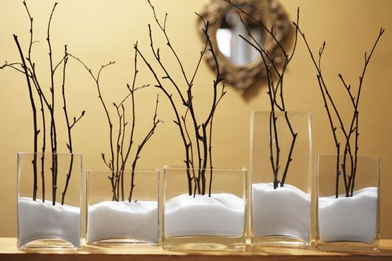 Using Indigenous Resources Is A Great Way To Save Money For Your Home Decorations Instance This Lovely Bathroom Decor Made From Small Tree Branches