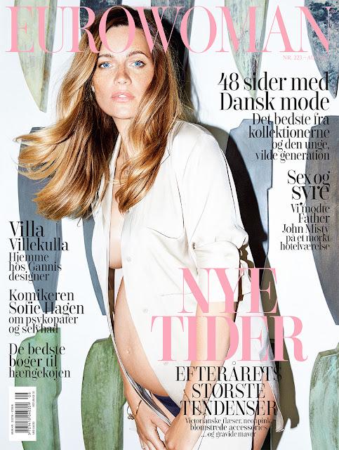 Fashion Model, @ Maria Gregersen by Rasmus Weng Karlsen for Eurowoman Denmark, August 2016
