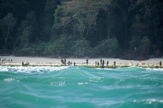 Penduduk Pulau Sentinel Utara