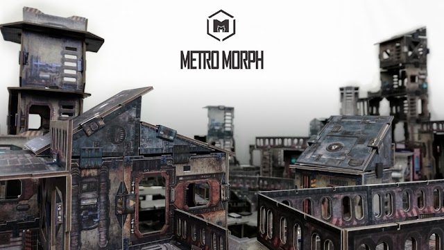 Metro Morph: A Table Full of Terrain for a Good Price