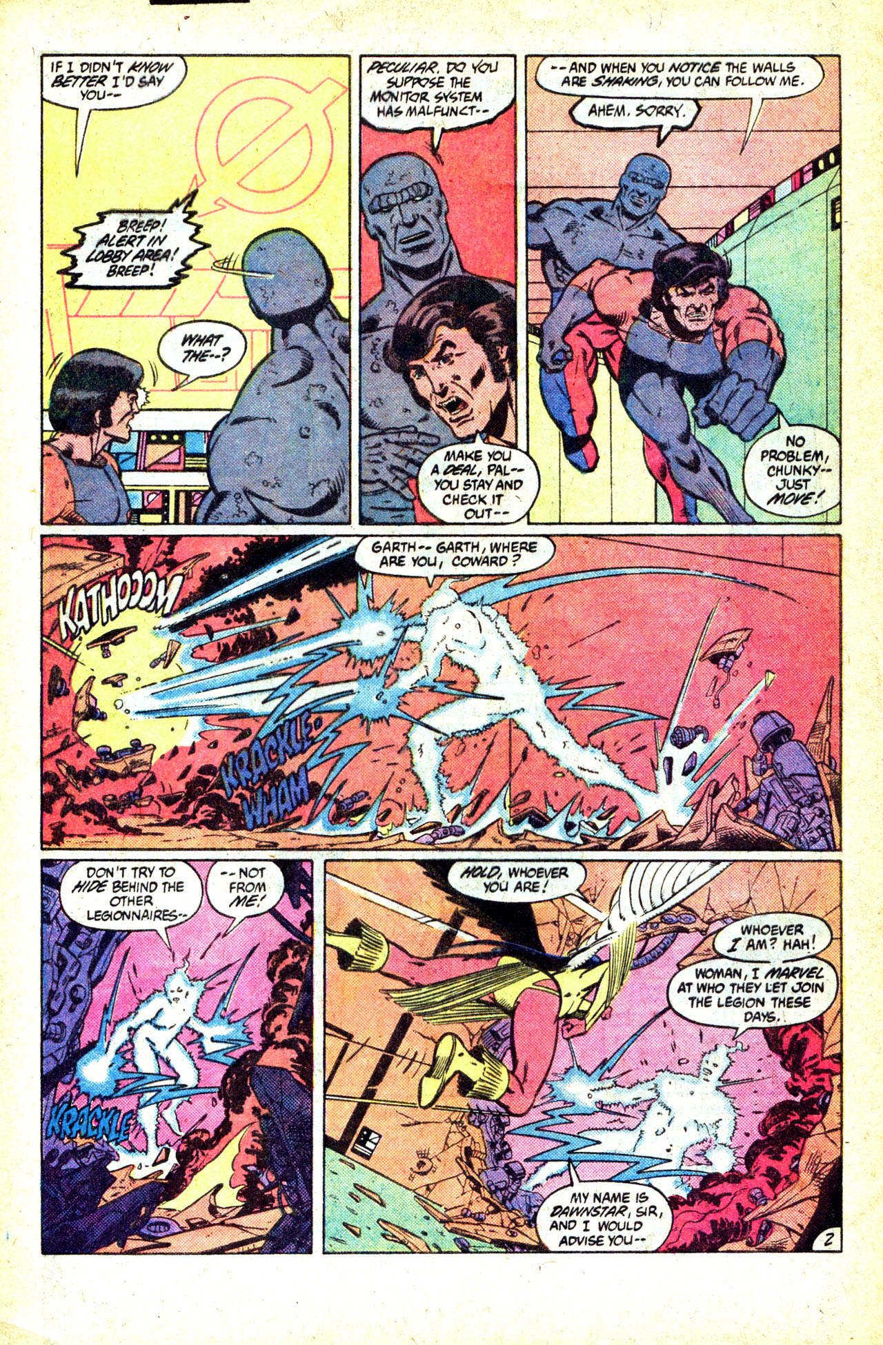 Legion of Super-Heroes (1980) 302 Page 3