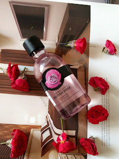 The Body Shop British Rose Shower Gel Review