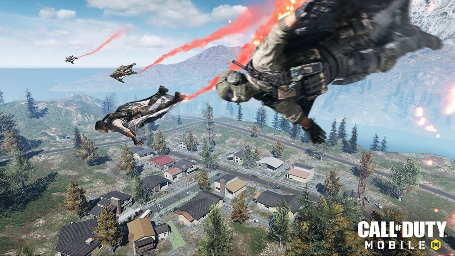 Skydiving, Call of Duty Mobile, 4K, #7.1760