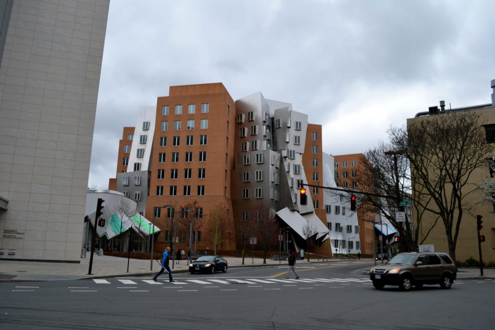 Центр Рея и Марии Стата, Бостон, Массачусетс (Ray and Maria Stata Center, Boston, MA)